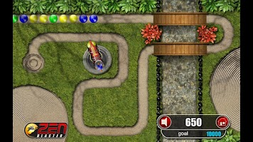 Screenshot of Zen Blaster