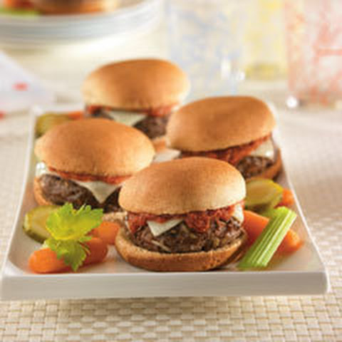 Pizza Burger Sliders