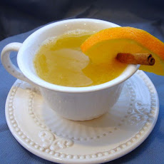 Hot Orange Almond Drink