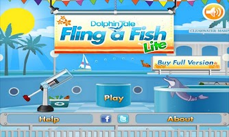 Screenshot of Dolphin Tale Fling a Fish LITE
