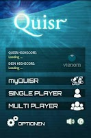 Screenshot of Quisr | 1-2 Player Quiz