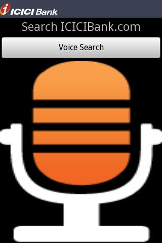 ICICI Voice Search