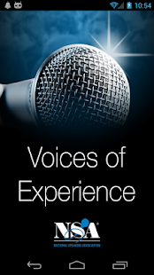 NSA Voices of Experience - screenshot