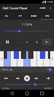 Screenshot of OMC Sound Player Pro