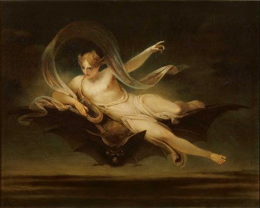 Sinlgeton Henry, Ariele su un pipistrello