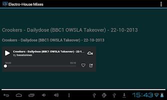 Screenshot of Electro - House Mixes
