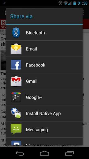 Find Native App