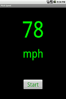 Screenshot of Pitch Speed