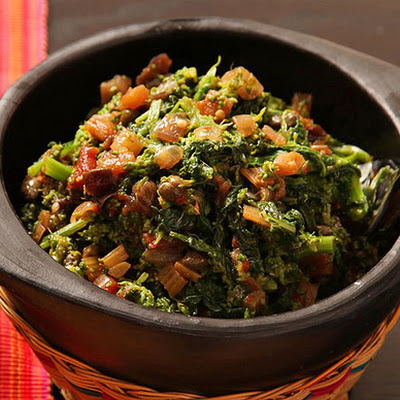 Sicilian-Style Broccoli Rabe with Eggplant and Capers