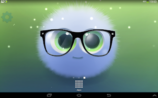 Screenshot of Fairy Puff Live Wallpaper