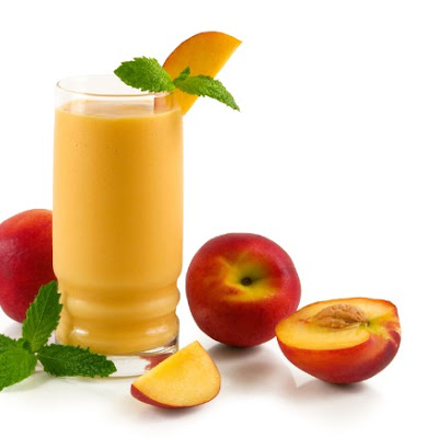Peaches and Cream Smoothies