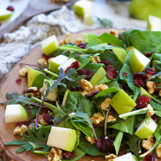 Pear, Cranberry & Blue Cheese Salad