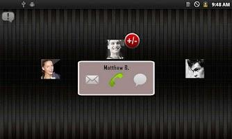 Screenshot of Quick 5 Contacts