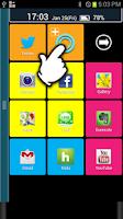 Screenshot of 2ndHOME Launcher