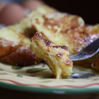 Cornmeal-Crusted French Toast with Sorghum Molasses