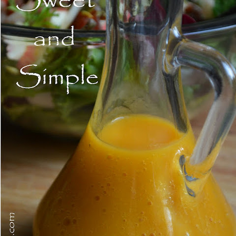 Sweet and Simple Mango Dressing with Three Delicious Salad Ideas