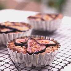 Fig and Hazelnut Tarts