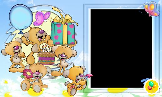 Фон для открытки на день рождения детские
