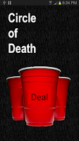 Screenshot of Circle of Death -Drinking game