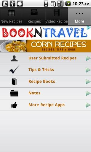 生活必備APP下載 Corn Recipes! 好玩app不花錢 綠色工廠好玩App