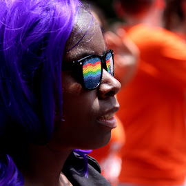 Equality by Sunny Guddoo - News & Events US Events ( love, indigo, equality, freedom, hair, pride parade,  )