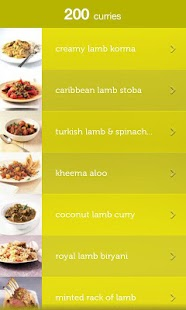 200 Curries from Hamlyn - screenshot