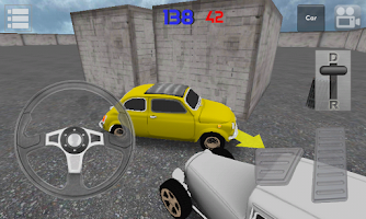 Screenshot of Classic Car Parking 3D Light