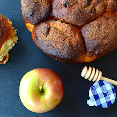 Apples and Honey Challah