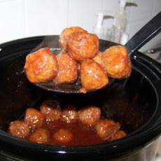 Robins Easy Crock Pot Meatballs