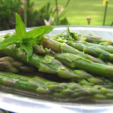 Asparagus With Lemon and Mint