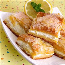 Lemon Cream Cheese Bars