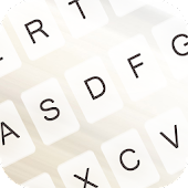 Free Pure White Keyboard Theme APK for Windows 8