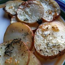 Roasted Dill Potatoes