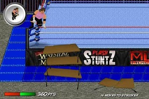 Screenshot of Flash StuntZ (Wrestling)
