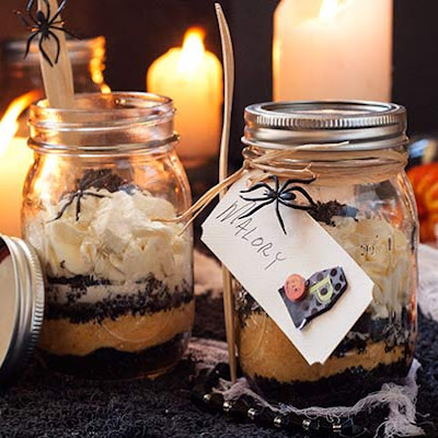 Gluten Free Pumpkin Cheese Cakes in a Jar