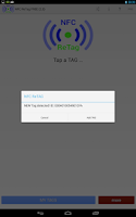 Screenshot of NFC ReTag FREE