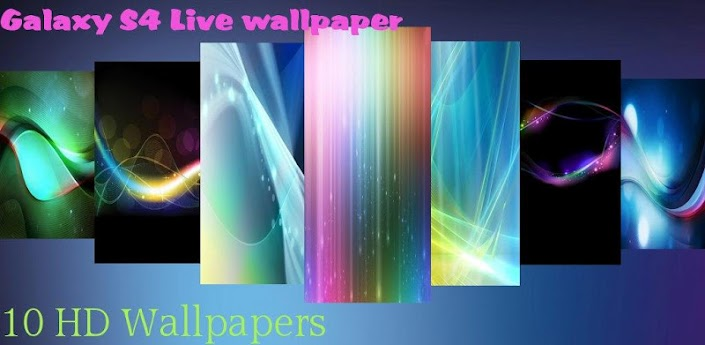 Galaxy S4 Live Wallpaper v1.2