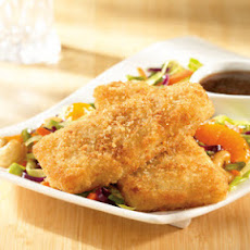 Crunchy Fish Fillets with Asian Slaw
