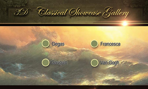 3D Classical Showcase Gallery2