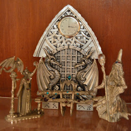 Wizards and Dragons by Dawn Katzmann - Novices Only Objects & Still Life ( object )
