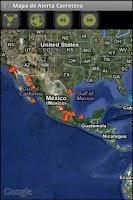 Screenshot of CAPUFE Alerta Carretera
