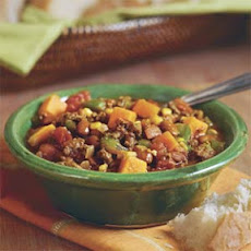 Beef-and-Butternut Squash Chili