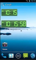 Screenshot of Digital Clock Green Pro