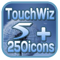 Touchwiz5 CM7 Theme +250icons icon