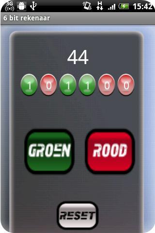 Six bits calculator