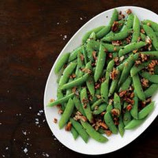 Brown-Buttered Sugar Snap Peas with Pecans