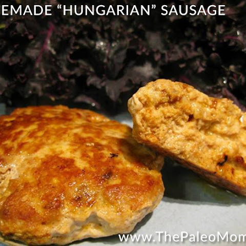 "Homemade ""Hungarian"" Sausage"
