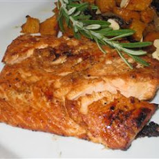 Ginger and Orange Salmon