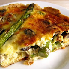 Packer's Asparagus & Tomato Quiche