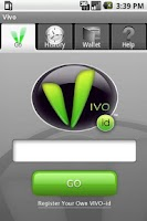 Screenshot of VIVO-id for Android